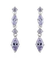 JULIETTE DROP EARRINGS (LAVENDER)