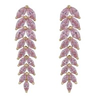 LOLA RAY I DROP EARRINGS (PINK)