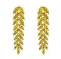 LOLA RAY I DROP EARRINGS (YELLOW)