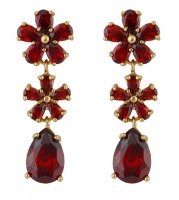 PRECIOUS DROP EARRINGS (RED)