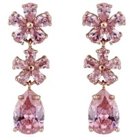 PRECIOUS DROP EARRINGS (PINK)