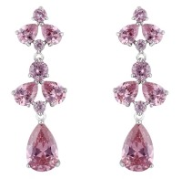 PRIYA DROP EARRINGS (PINK)