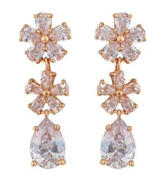 PRECIOUS ROSE-GOLD EARRINGS