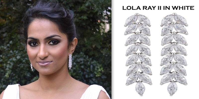 BandAJewellery Lola Ray in White