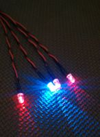 5mm x4 Red / Blue Alternating 160mm Screw Terminal Connector