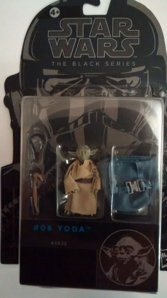 Star Wars Figure The Black Series #06 Yoda A5632 3.75