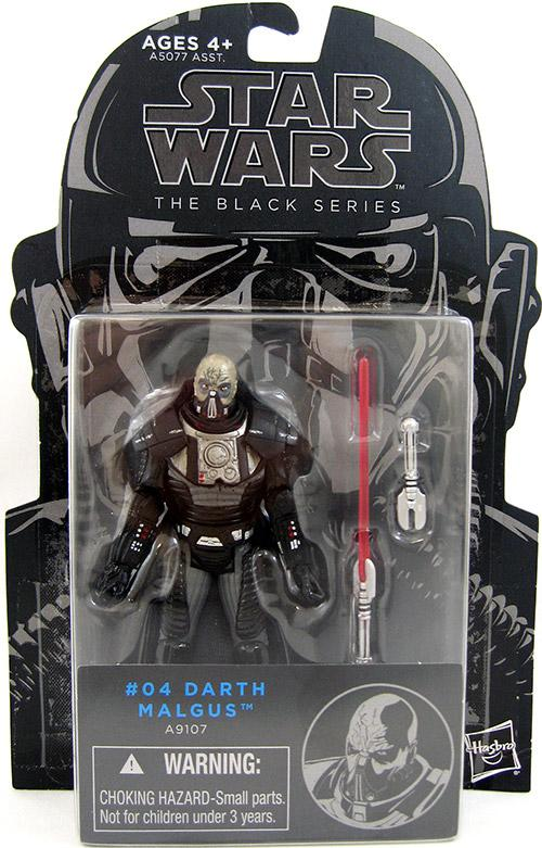 Star Wars Figure The Black Series #04 Darth Malgus A9107  3.75