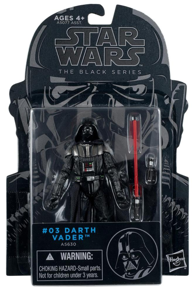 Star Wars Figure The Black Series #03 Darth Vader A5630 3.75
