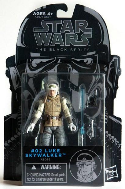 Star Wars Figure The Black Series #02 Luke Skywalker A8056  3.75