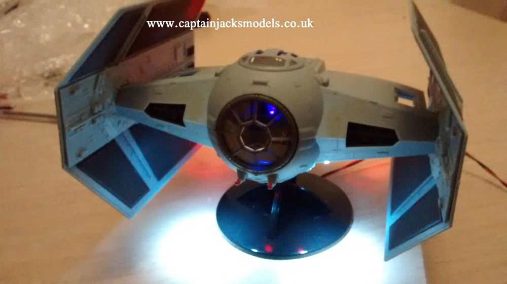 Darth Vaders Tie Fighter Light Kit For Revell 06655 - SET 1