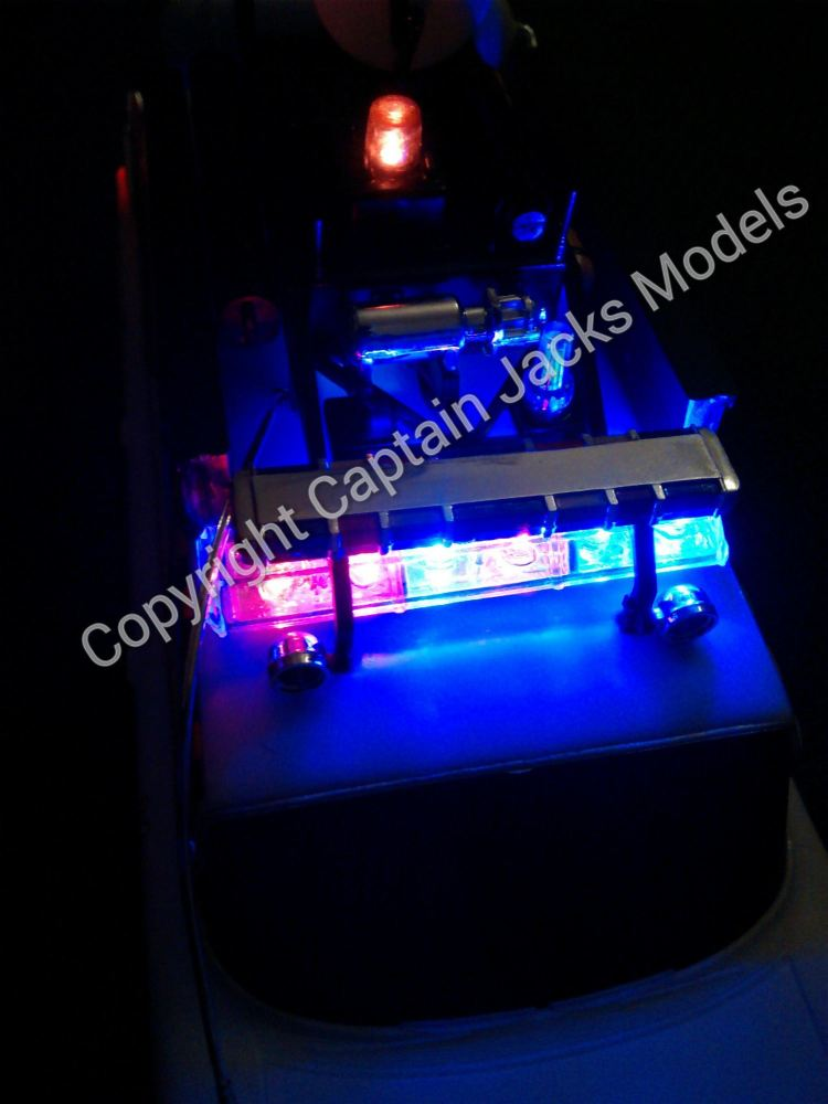Ghostbusters Ecto 1a Led Lighting Kit For Amt Models 1 25 Scale