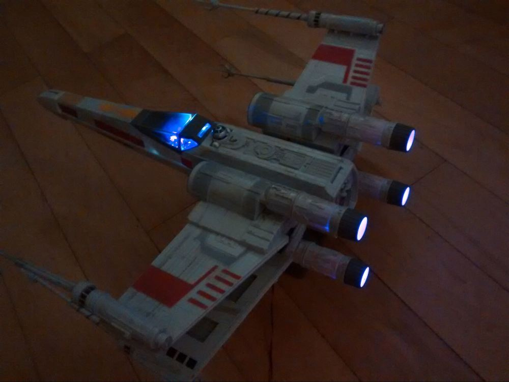 X - Wing Fibre Optic Complete Set - Red