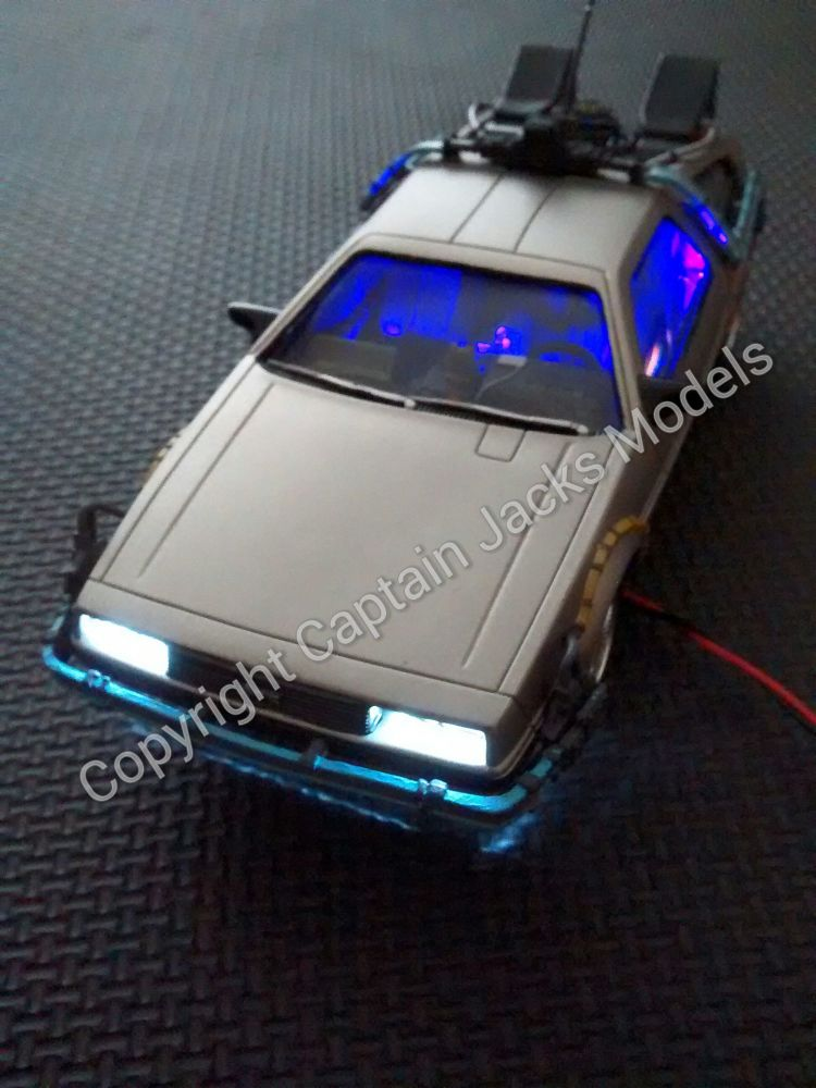 POLAR LIGHTS Back To The Future DeLorean Time Machine Light Kit
