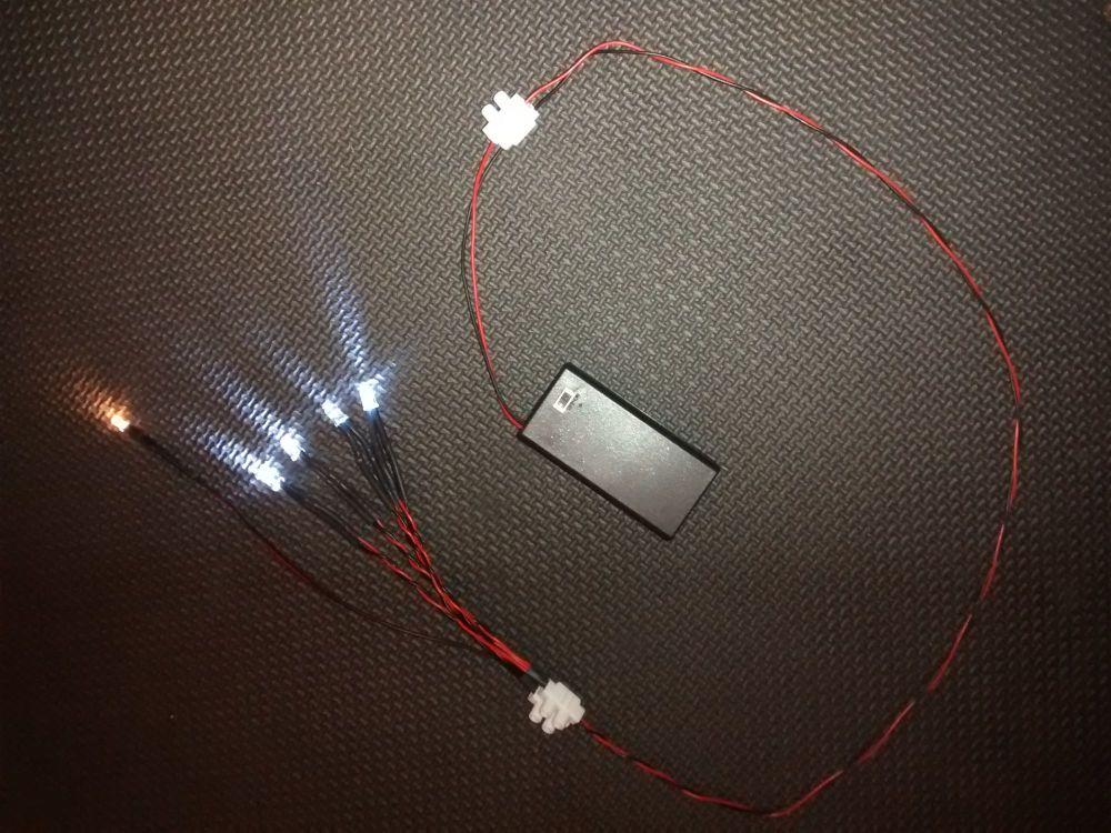 Star Wars Model Led & Fibre Optic Bandai 1/144 Millennium Falcon Light Kit