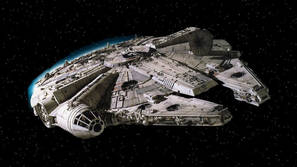 Star Wars Millennium Falcon Lighting
