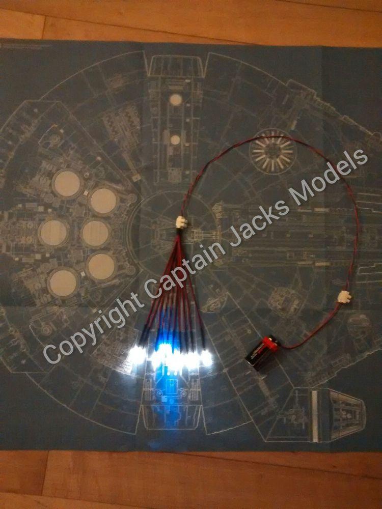 Large Scale Millennium Falcon Ramp & Walkway Lighting Set