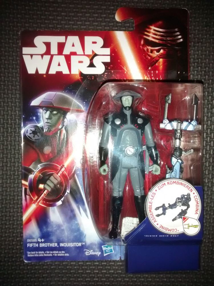 Star Wars Fifth Brother Inquisitor Collectable Figure 3.75