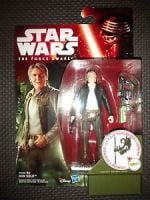 """Star Wars The Force Awakens Han Solo Collectable Figure 3.75"""" Tall"""
