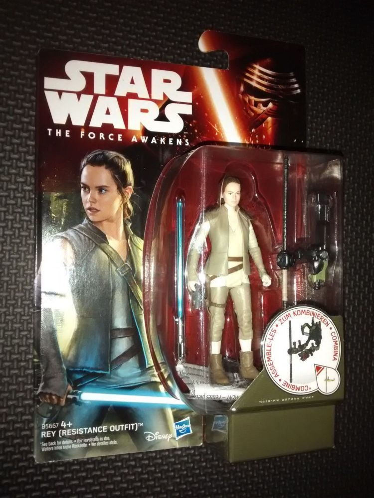 Star Wars The Force Awakens REY Collectable Figure 3.75