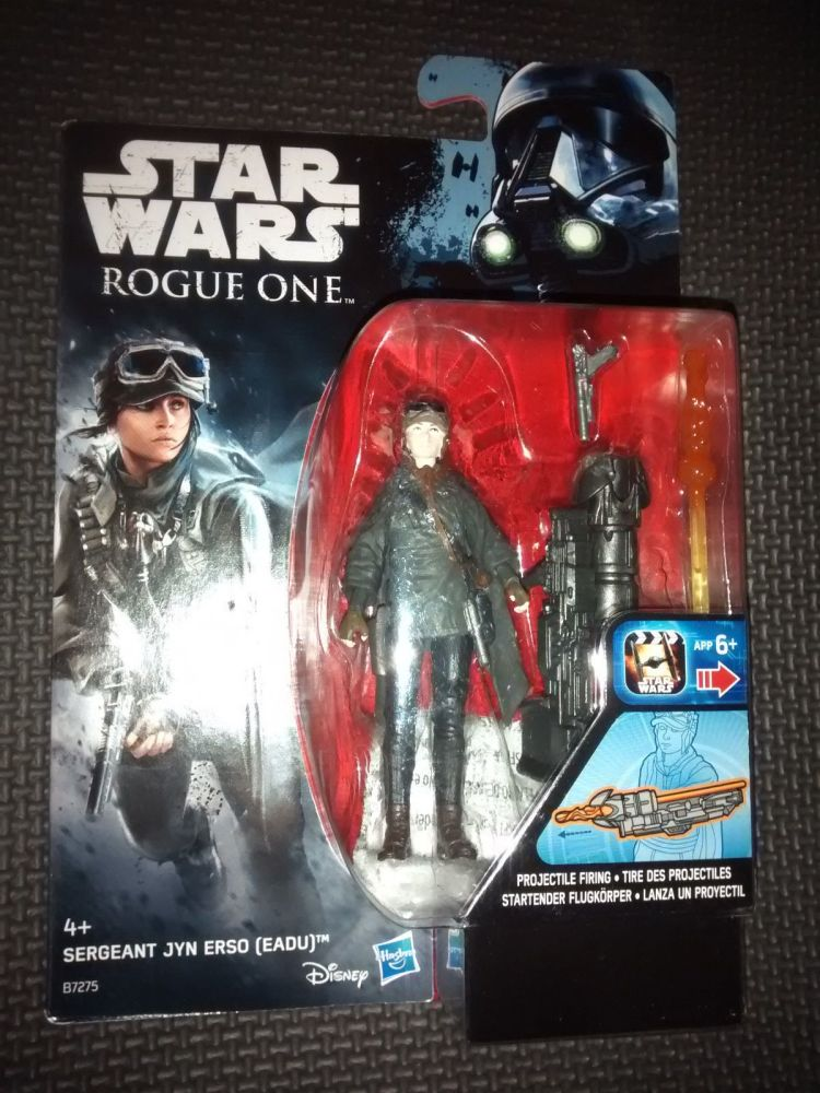 Star Wars Rogue One Sergeant Jyn Erso (Eadu) Collectable Figure 3.75