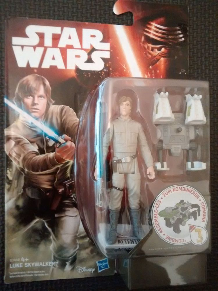 Star Wars The Empire Strikes Back LUKE SKYWALKER Collectable Figure 3.75