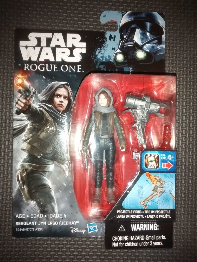 Star Wars Rogue One Sergeant Jyn Erso (Jedha) Collectable Figure 3.75