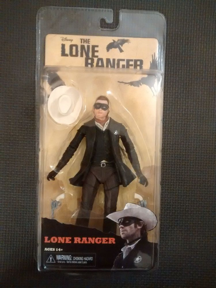 Neca Disney Reel Toys Lone Ranger Collectable Figure 7