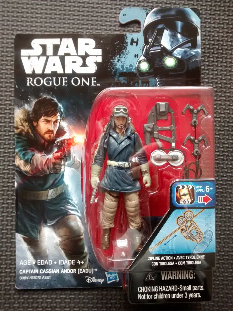 Star Wars Rogue One Captain Cassian Andor (Eadu) Collectable Figure 3.75
