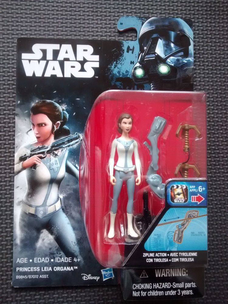 Star Wars Princess Leia Organa Collectable Figure 3.75