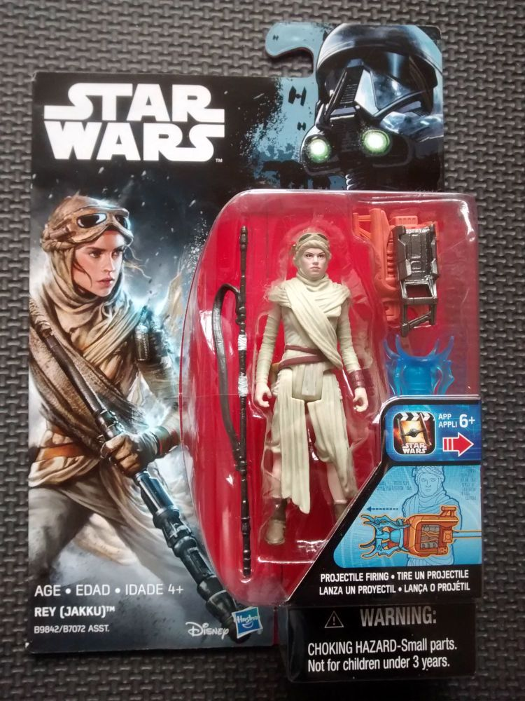 Star Wars Rey (Jakku) Collectable Figure 3.75