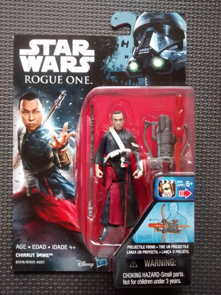 Star Wars Rogue One Chirrut Imwe Collectable Figure 3.75