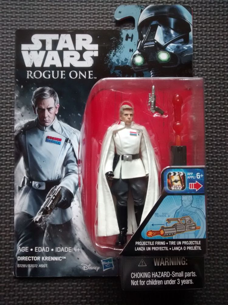 Star Wars Rogue One Director Krennic Collectable Figure 3.75