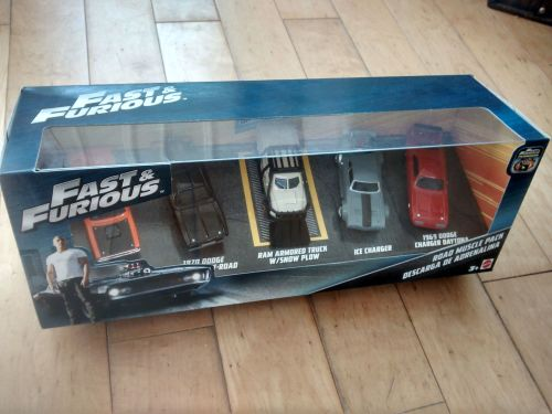 Fast & Furious Collectable Diecast Cars Road Muscle Pack