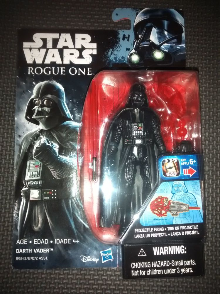Star Wars Rogue One Darth Vader Collectable Figure 3.75