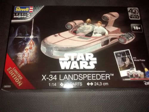 Revell 1:14 X-34 Landspeeder 40 Years of Star Wars Limited Edition Kit 0605