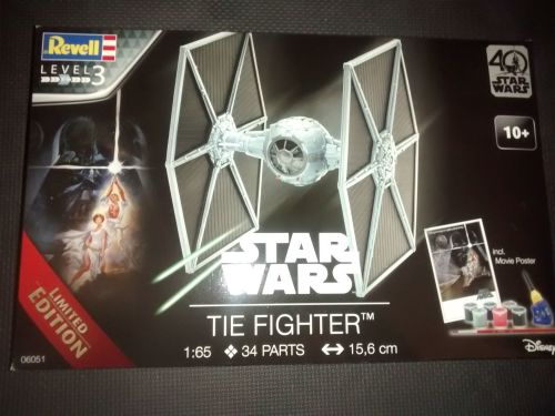 Revell 1:65 TIE Fighter 40 Years of Star Wars Limited Edition Kit 06051