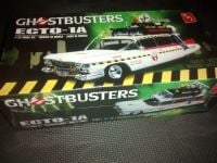 AMT Ghostbusters Ecto 1A Model Kit & Light Kit Bundle