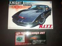 Aoshima Knight Rider Season Four Model Kit - Plus Aoshima Led Front Scanner Unit