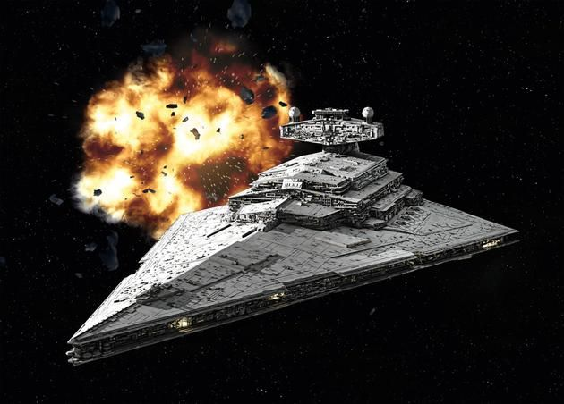 Star Destroyer Lighting