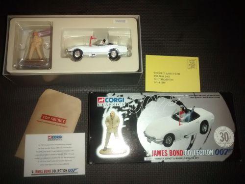 Vintage Corgi James Bond Collection Toyota 2000GT & Blofeld Figure Set - Su