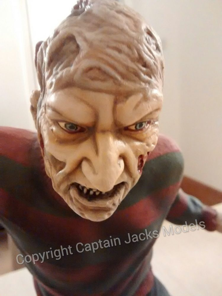 A Nightmare On Elm Street - Freddy Krueger - Collectors Display Model