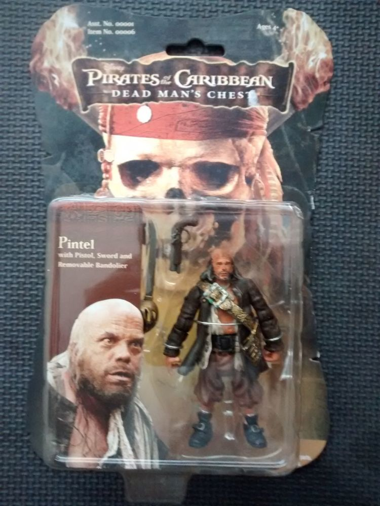 Zizzle - Collectors Figure - Pirates Of The Caribbean Dead Mans Chest - Pin