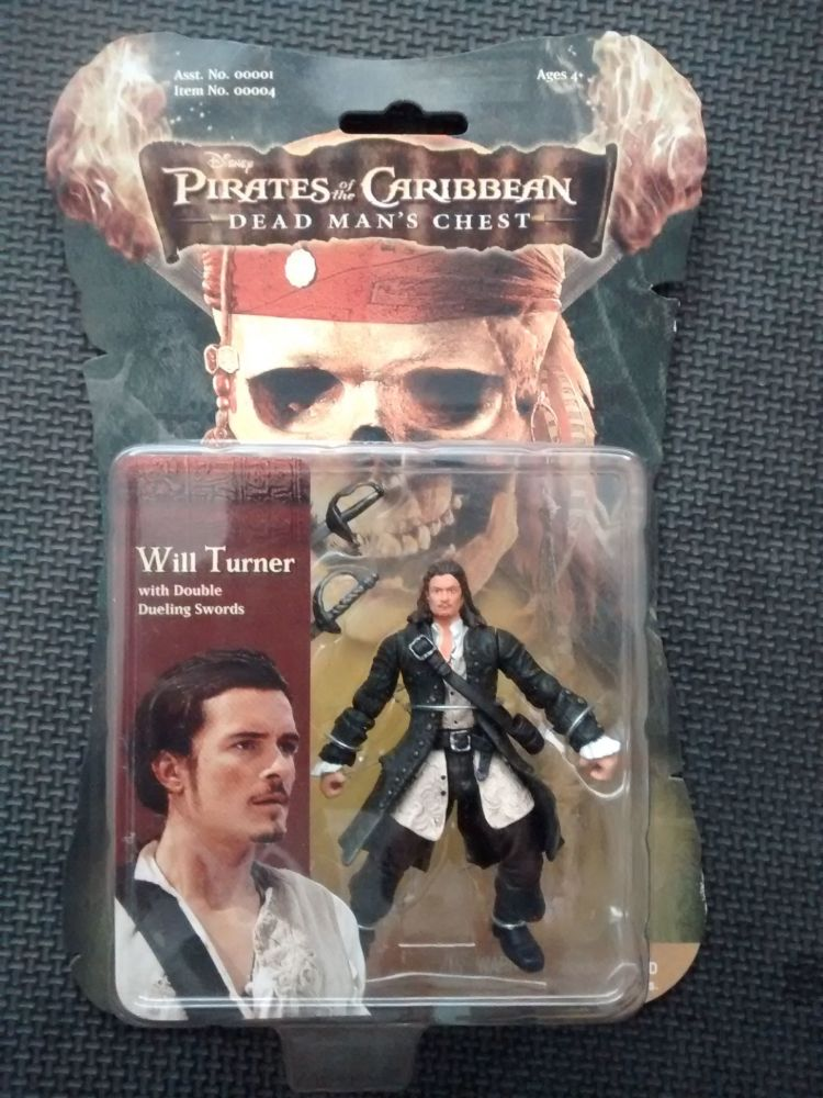 Zizzle - Collectors Figure - Pirates Of The Caribbean Dead Mans Chest - Wil