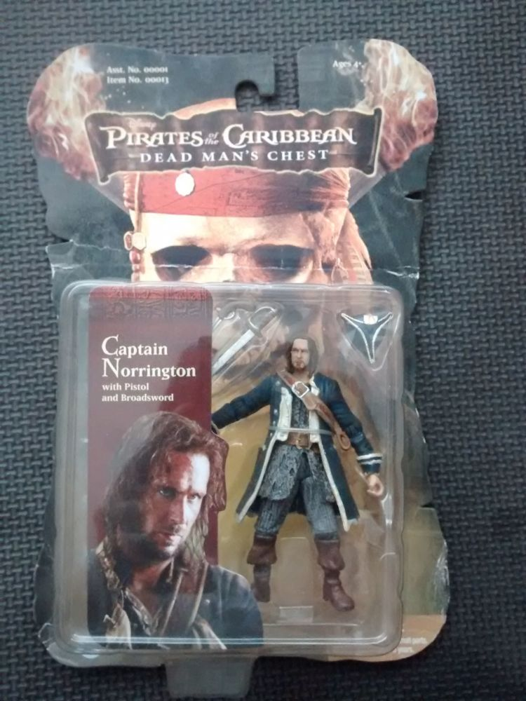Zizzle - Collectors Figure - Pirates Of The Caribbean Dead Mans Chest - Cap