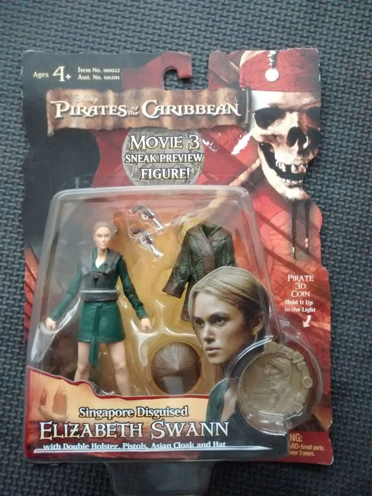 Zizzle - RARE Collectors Figure - Pirates Of The Caribbean - Movie 3 Sneak