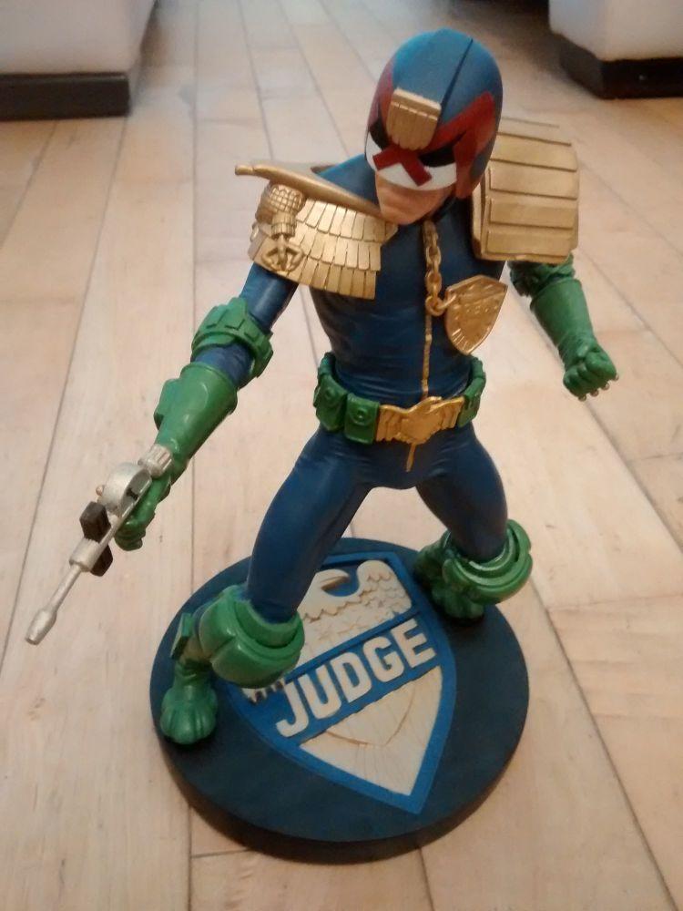 Judge Dredd- Pre-built Collectors Display Model