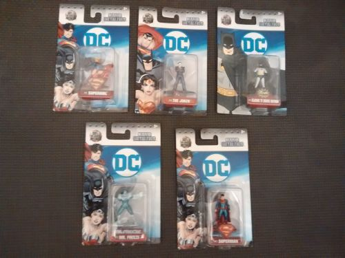 DC Nano Metalfigs - Five Figure Bargain Bundle