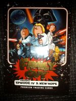 Family Guy Star Wars A New Hope - Complete 50 Card Base Set - Inkworks - Brand New & Sealed