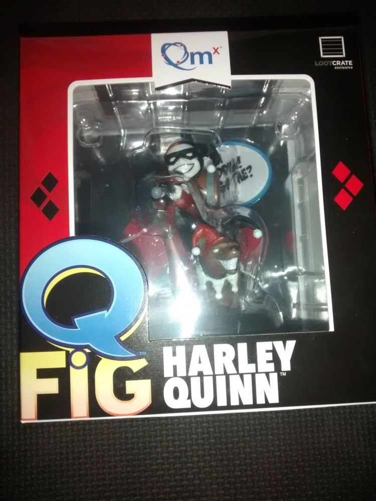 Q Fig Harley Quinn Collectable Figure