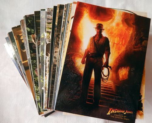 Topps 2008 - Collectable Trading Cards - Indiana Jones & Thye Kingdom Of Th